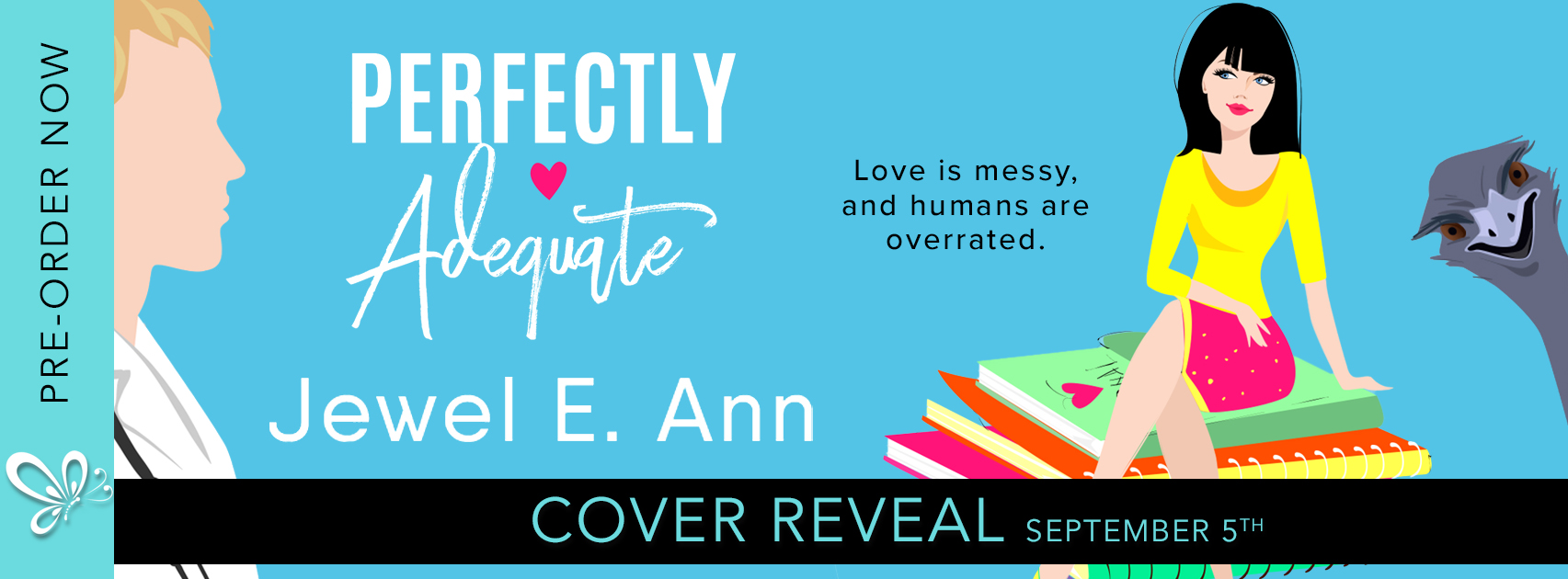Cover Reveal: Perfectly Adequate by Jewel E. Ann