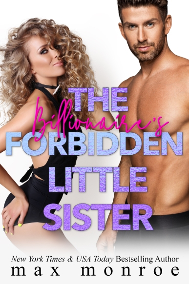 The Billionaire's Forbidden Little Sister Official Cover