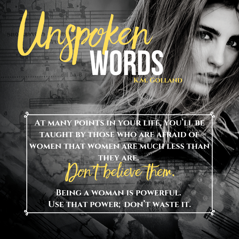 Unspoken Words - Woman