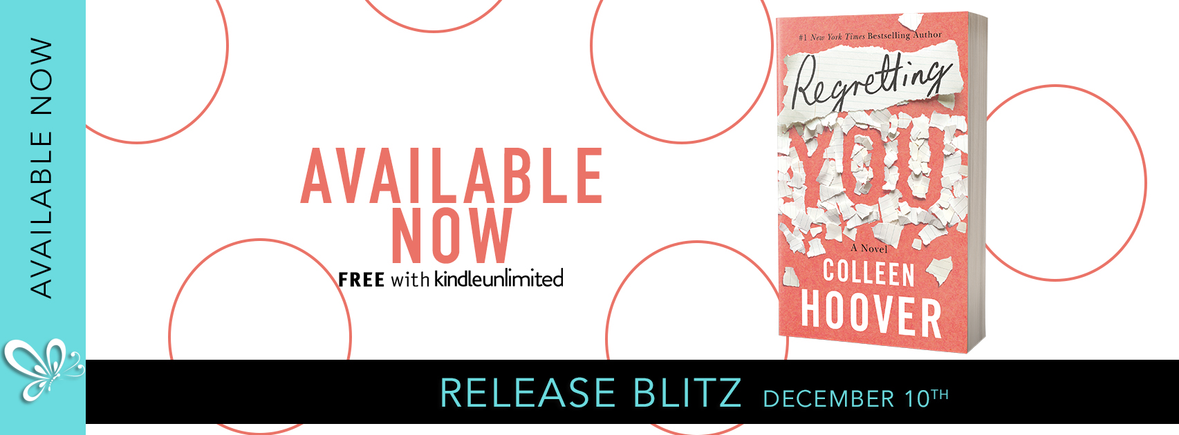 Release Blitz: Regretting You by Colleen Hoover
